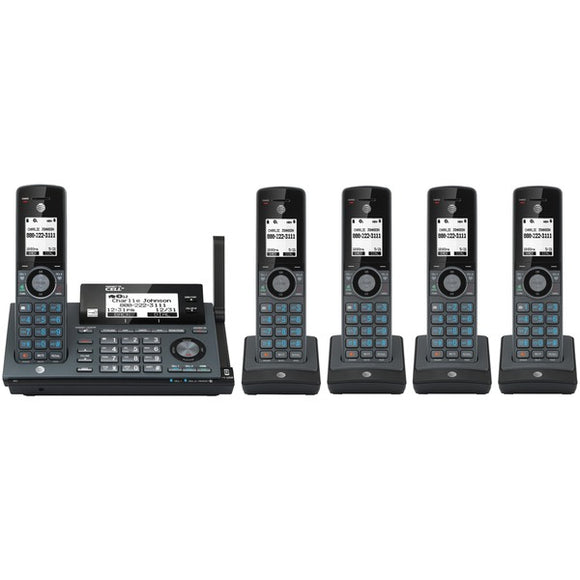 AT&T CLP99587 Connect to cell Accessory System with 5 Handsets