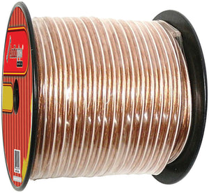 Audiopipe CABLE10CLEAR300 10 Gauge Speaker Wire 300FT
