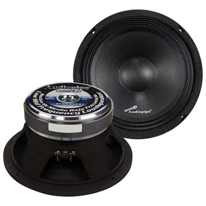 "Audiopipe APMB8 8"" 500 Watt Mid Bass Car Speaker"