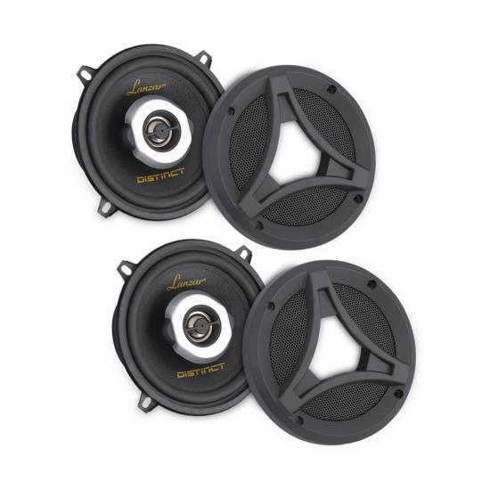 Lanzar DCT5.2 5.25-Inch 160-Watt 2-Way Coaxial Speaker Pair