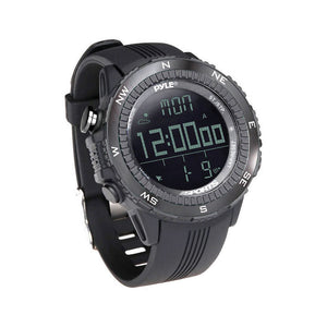 Pyle PSWWM82BK Multifunction Active Sports Watch Black