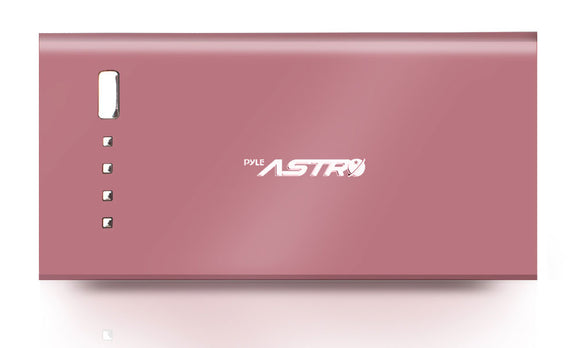 Pyle PBC5300PN Pink 5200mAh External Battery Charger
