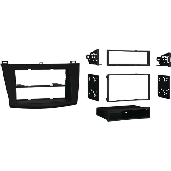 Metra 997514B Single or Double-DIN Installation Kit for 2010–2013 Mazda 3