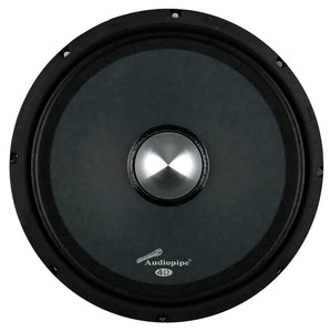 "Audiopipe APMB10N11DR Low Mid Frequency Loudspeaker 10"" 600W Each"