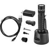Maglite TRM1RE4 MAGTAC Rechargeable Flashlight w/Plain Bezel-Black