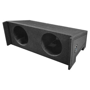 "Qpower QBJEEP10DF Bomb Dual 10"" Woofer Box for Jeep Wrangler CJ5/CJ7 Downfire"