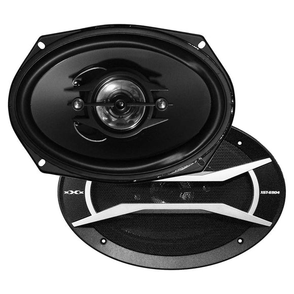 Pair Xxx Xgt6904 6x9 4 Way 500w Car Audio Speakers 500 Watt Xgt-6904