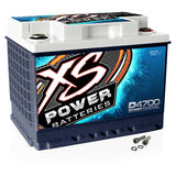 XS Power D4700 2000/3000W 12V BCI GROUP 47 AGM Battery 50AH
