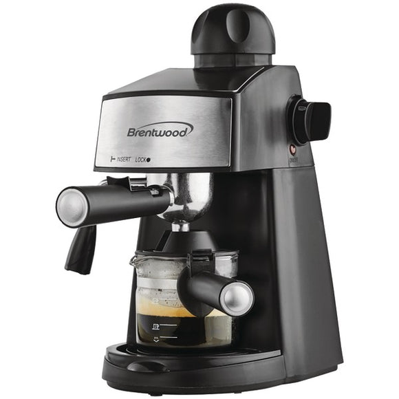 Brentwood Appliances GA-125 20-Ounce Espresso and Cappuccino Maker