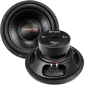 American Bass *Dx10* Woofer 10 Inch 60Oz. Magnet