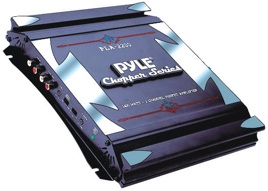 Pyle PLA2200 1400 Watt 2 Channel Chopper Car Amplifier
