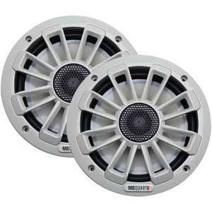 "MB Quart NK1116 6.5"" 120 Watt 2 Way White Marine Speaker"