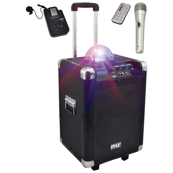 Pyle PCMX280B Disco Jam 400-Watt Bluetooth Portable PA Speaker System