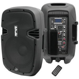 "Pyle PPHP1037UB 10"" 700 Watt 2 Way Bluetooth PA Speaker System w/ Sound Recording Ability"