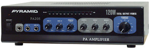 Pyramid PA205 120 Watt Amplifier w/ Microphone input