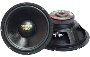 "Pyramid PW1048USX 10"" 8 OHM Subwoofer with 60 OZ. Magnet"