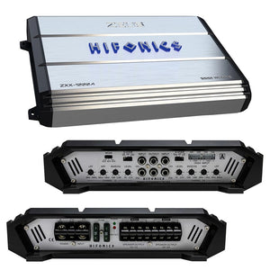 Hifonics ZXX-1000.4 1000W Peak Zeus Series Class-A/B 4-Channel Amplifier