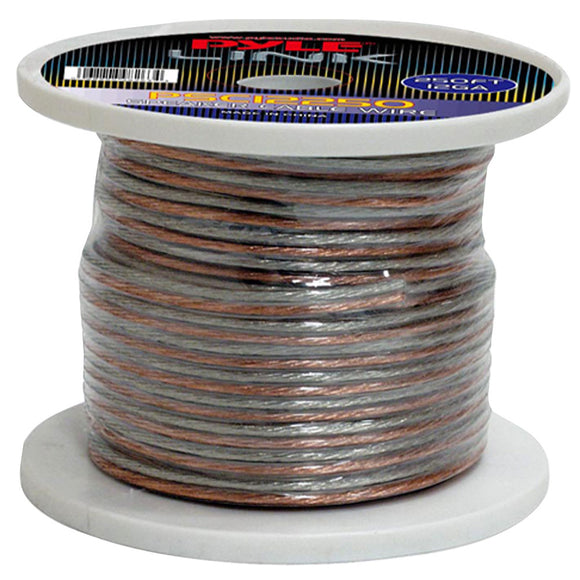 Pyle PSC12250 12 Gauge 250 ft. Spool of High Quality Speaker Wire