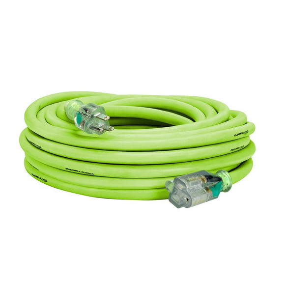 Flexzilla FZ512930 Pro Extension Cord 10/3 Awg Sjtw 50Ft Outdoor Lighted Plug