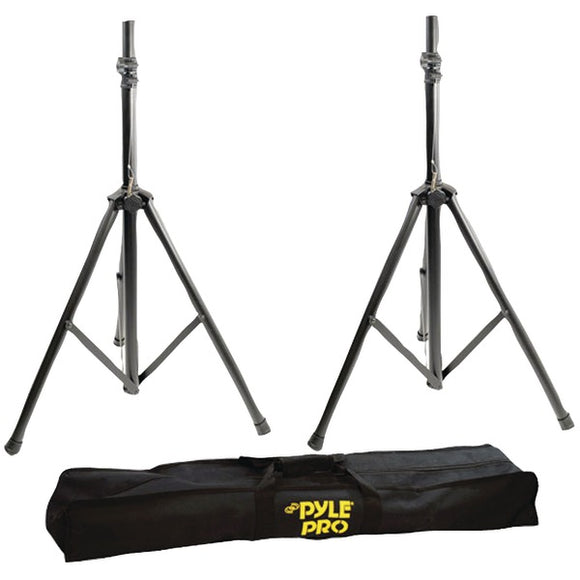 Pyle Pro PSTK103 Dual Universal Speaker Stand Mount Holders Adjustable to 8' Ft
