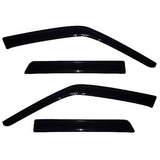 Auto Vent Shade Original Ventvisor Side Window Deflector Dark Smoke 4Pc Set for 2010-2017 Nissan Ju
