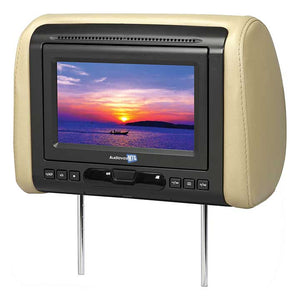 "Audiovox MTGHRD1 7"" Headrest Monitor(sold each) with DVD/HDMI output 3 Covers"
