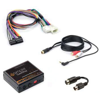PAC ISTY12 Toyota Lexus Satellite wire kit  with AUX in