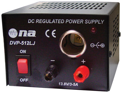 Nippon DVP512LJ America 3 Amp Power Supply