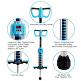 Blue Digital Pogo Stick - Bounce Counting Pogo Stick JPS08BL
