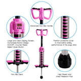 Digital Pogo Stick - Bounce Counting Pogo Stick JPS08RD