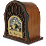 Pyle PUNP37BT Vintage-Style Radio System with Bluetooth