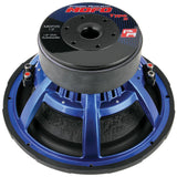 "Power Acoustik MOFOS12D4 12"" Woofer Dual 4 Ohm 2500W Max"