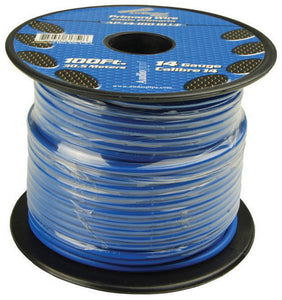 Audiopipe AP14100BL 14 Gauge 100Ft Primary Wire Blue