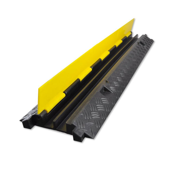 Pyle PCBLCO26 Cable Protective Cover Ramp, Cord/Wire Concealment Protection Track, Hassle-Free