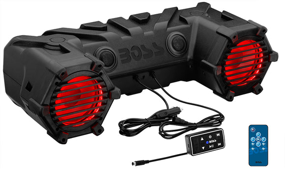 Boss Audio ATV30BRGB 450 Watt ATV Bluetooth Sound System w/ 6.5