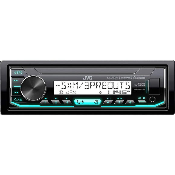JVC KDX35MBS Marine Mechless AM / FM / Bluetooth / Sat ready