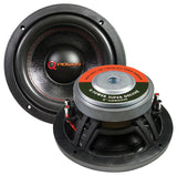 "Qpower QPF8DSUPER 8"" 1000 Watt Woofer Heavy Duty 4 ohm DVC"