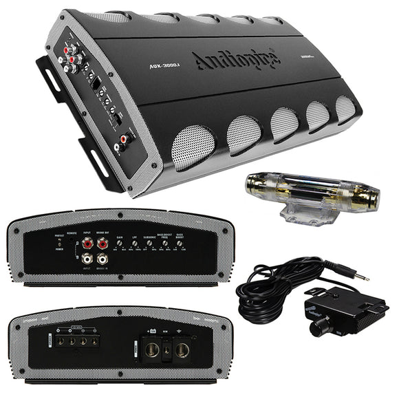 Audiopipe AQX30001 Amplifier D class 3000 Watts