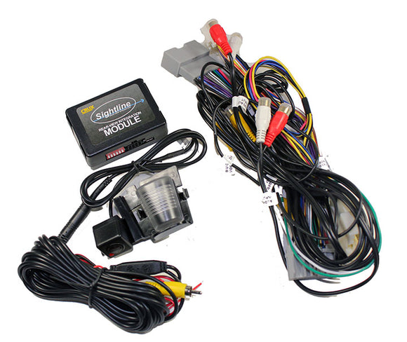 Crux RVCCH75W Rear-View & VIM Integration w/ Camera For Jeep Wrangler 07-14
