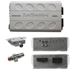 Audiopipe APMAR1300 Marine Mini Amplifier 1000W