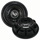 "Audiopipe TXXFA1000 10"" Shallow Woofer 600 Watts DVC 4 ohm"