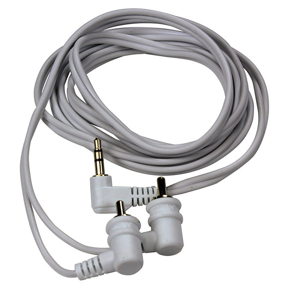 Audiopipe IP356 3.5mm 6' Right Angle RCA Cable Plug