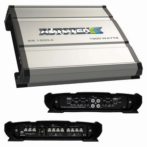 Autotek SS15004 Super Sport Amplifier 1500 Watt 4 Channel