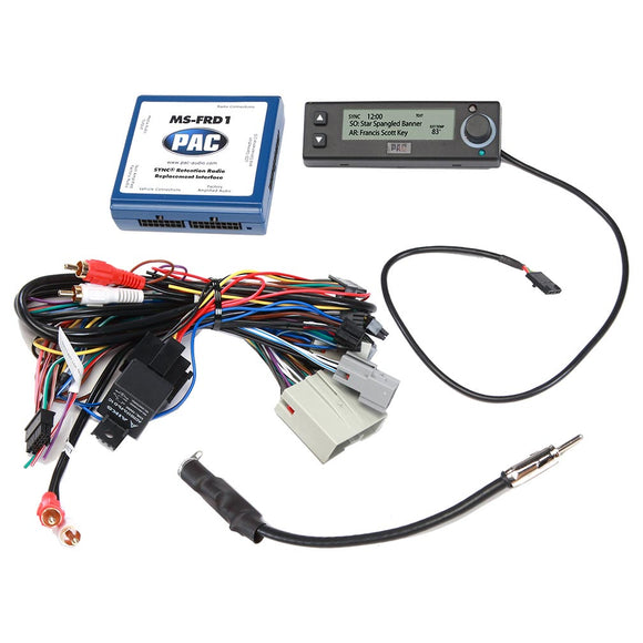 PAC MSFRD1 Radio Replacement Interface for Ford