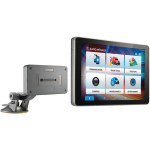 "Rand McNally 528017829 OverDryve 8 Pro 8"" Truck GPS Tablet w/ Dash Cam/Bluetooth"