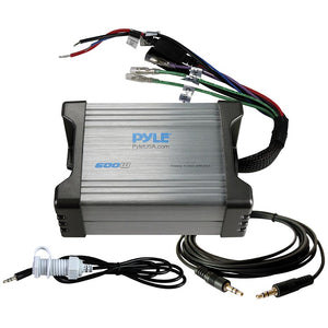 Pyle PLMRMP2A Marine 2 CH 600 Watt MP3/IPod Marine Power Amp