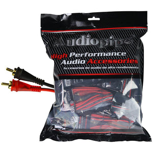 Audiopipe AMF12 12ft Oxygen Free RCA Cable - 10pcs per bag