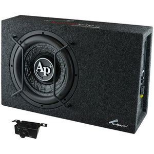"Audiopipe APSBXF12AMP Single 12"" Sealed Bass Enclosure 600W Max"