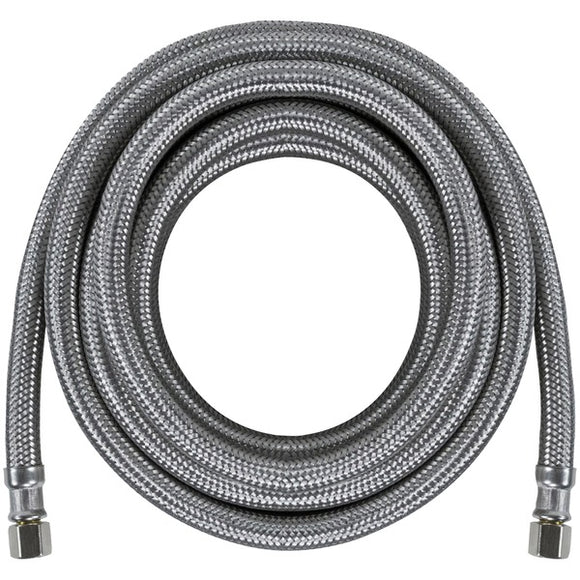 Certified Appliance IM180SS Braided Stainless Steel Ice Maker Connector 15 foot