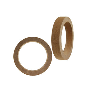 "Pair (2) Nippon Ring6.5R MDF 3/4"" Thick 6.5"" Speaker Mounting Spacer Rings"